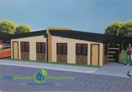 Bonita House Model, Las Casas de Maria, Affordable Housing in Davao, Low Cost Housing in Davao, Davao Subdivisions, Buhangin, Cheap Housing, Economical Housing, low-price Housing, Inexpensive Housing, Duplex