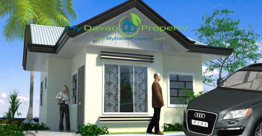 Claire House Model, The Prestige Subdivision, Affordable Housing in Davao, Low Cost Housing in Davao, Davao Subdivisions, Buhangin, Cheap Housing, Economical Housing, low-price Housing, Inexpensive Housing, Bungalow