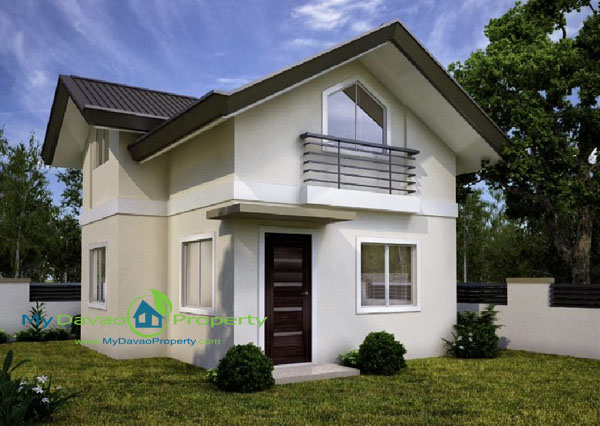 Ezra House Model, The Prestige Subdivision, Affordable Housing in Davao, Low Cost Housing in Davao, Davao Subdivisions, Buhangin, Cheap Housing, Economical Housing, low-price Housing, Inexpensive Housing, Two Storey
