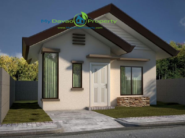 Kate House Model, The Prestige Subdivision, Affordable Housing in Davao, Low Cost Housing in Davao, Davao Subdivisions, Buhangin, Cheap Housing, Economical Housing, low-price Housing, Inexpensive Housing, Bungalow