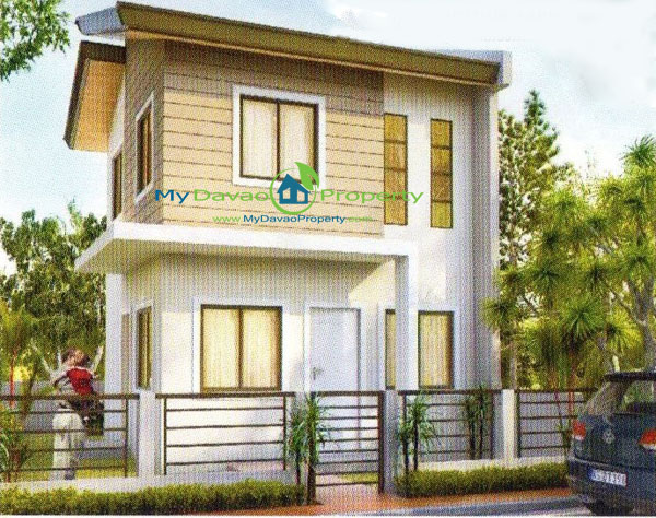 Luke House Model, The Prestige Subdivision, Affordable Housing in Davao, Low Cost Housing in Davao, Davao Subdivisions, Buhangin, Cheap Housing, Economical Housing, low-price Housing, Inexpensive Housing, Two Storey
