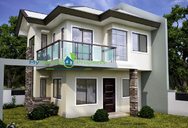 Mike House Model, The Prestige Subdivision, Affordable Housing in Davao, Low Cost Housing in Davao, Davao Subdivisions, Buhangin, Cheap Housing, Economical Housing, low-price Housing, Inexpensive Housing, Two Storey