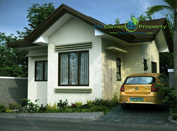 Zach House Model, The Prestige Subdivision, Affordable Housing in Davao, Low Cost Housing in Davao, Davao Subdivisions, Buhangin, Cheap Housing, Economical Housing, low-price Housing, Inexpensive Housing, Bungalow