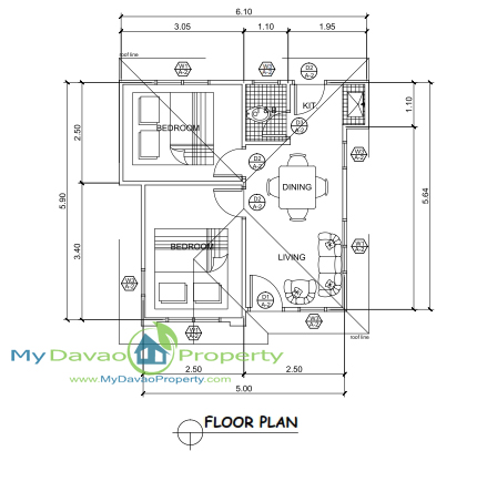 Apo highlands subdivision jasmin model house single for Subdivision house plans
