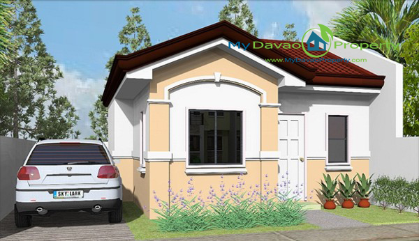 Apo Highlands Subdivision – Jasmin Model House (Single Attached-Bungalow)