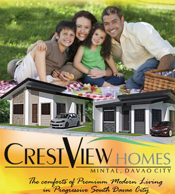 Crest View Homes, Affordable Housing, Low Cost Housing, Davao Subdivisions, Cheap Housing, Economical Housing, low-price Housing, Inexpensive Housing, Socialized Housing, Cabantian, Davao City, My Davao Property, mydavaoproperty.com, Two Storey, Bungalow, Single Detached, Single Attached, Duplex, Mintal, Diantha A, Diantha D, Helena A, Helena B, Floor Plan, Sample Computation, Vicinity Map, Site Map, Lot only