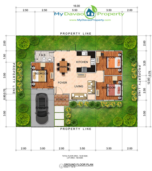 Sample Bungalow House Plans