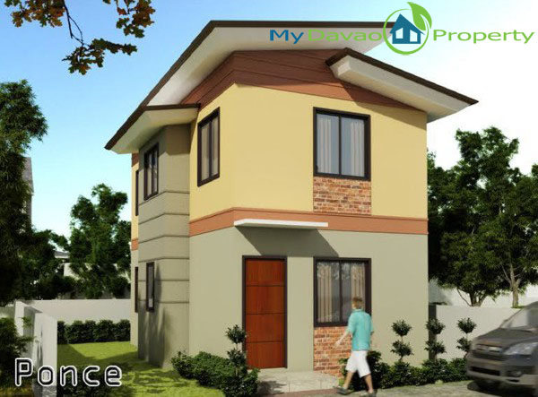 Middle Cost Housing, Middle Cost Housing, Davao Property, Davao Properties, Davao Houses, Davao Subdivision, Davao City House and Lot, My Davao Property, mydavaoproperty.com, Hidalgo Homes Logo, Ponce Model House, Two Storey House