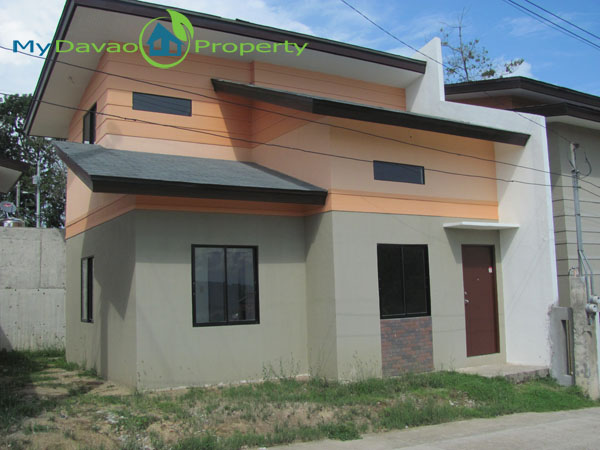 Middle Cost Housing, Middle Cost Housing, Davao Property, Davao Properties, Davao Houses, Davao Subdivision, Davao City House and Lot, My Davao Property, mydavaoproperty.com, Hidalgo Homes Logo, Luna Model House, Two Storey House, Actual Photo
