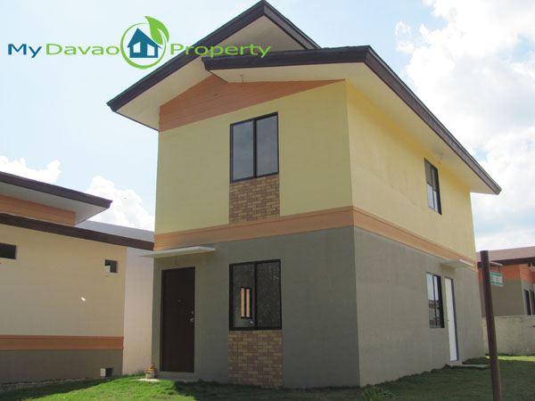 Middle Cost Housing, Middle Cost Housing, Davao Property, Davao Properties, Davao Houses, Davao Subdivision, Davao City House and Lot, My Davao Property, mydavaoproperty.com, Hidalgo Homes Logo, Ponce Model House, Two Storey House, Actual Photo