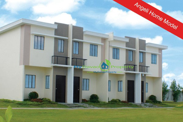 Angeli Model Lumina Homes Panabo-Carmen, Lumina Homes Panabo City Carmen, Lumina Homes Davao del Norte, Townhouses Lumina Homes Davao del Norte