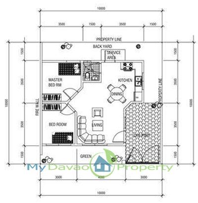 Oakridge Residential Estate Indangan Bluebell Model