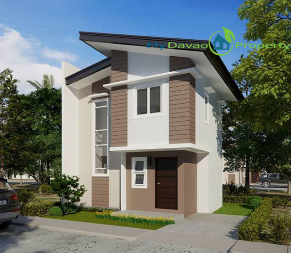 Mid Cost Housing, Middle Cost Housing, Davao Property, Davao Properties, Davao Houses, Davao Subdivision, Uraya Residences, mydavaoproperty.com, My Davao Property, Mixed-use Village, Cluster 3, Drew, Single Attached, two-storey, 2 storey