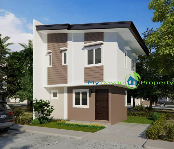 Mid Cost Housing, Middle Cost Housing, Davao Property, Davao Properties, Davao Houses, Davao Subdivision, Uraya Residences, mydavaoproperty.com, My Davao Property, Mixed-use Village, Cluster 3, Reagan, Single Attached, two-storey, 2 storey