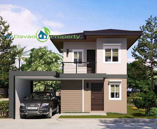 Mid Cost Housing, Middle Cost Housing, Davao Property, Davao Properties, Davao Houses, Davao Subdivision, Uraya Residences, mydavaoproperty.com, My Davao Property, Mixed-use Village, Cluster 6, Elena, Single Detched, two-storey, 2 storey