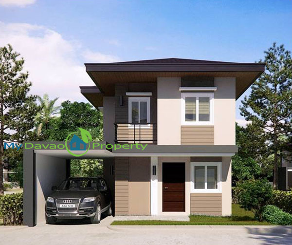 Mid Cost Housing, Middle Cost Housing, Davao Property, Davao Properties, Davao Houses, Davao Subdivision, Uraya Residences, mydavaoproperty.com, My Davao Property, Mixed-use Village, Cluster 6, Marie, Single Detched, two-storey, 2 storey
