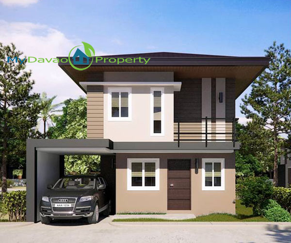 Mid Cost Housing, Middle Cost Housing, Davao Property, Davao Properties, Davao Houses, Davao Subdivision, Uraya Residences, mydavaoproperty.com, My Davao Property, Mixed-use Village, Cluster 6, Theresa, Single Detched, two-storey, 2 storey