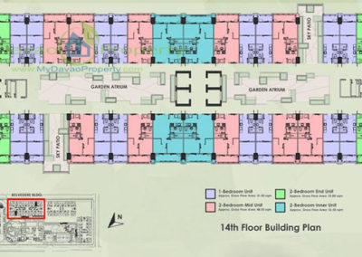 14th Floor Building Plan