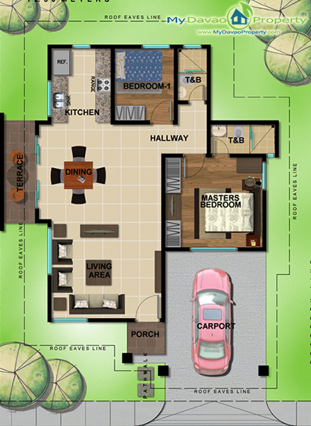 Amiya Resort Residences, Libby Road, Puan, Davao City Properties, House and Lot in Davao City, Davao Real Estate Investment, Davao Subdivisions, Davao City Subdivisions, Davao Properties for Sale, Davao Housing, Davao Real Estate Properties for Sale, Pag-ibig Housing in Davao City, Davao Real Estate, Davao Real Estate Property, High End Housing, My Davao Property, High-End Subdivision, Adelfa B, Bungalow Unit, Floor Plan