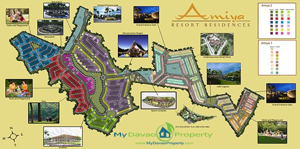 Amiya Resort Residences, Libby Road, Puan, Davao City Properties, House and Lot in Davao City, Davao Real Estate Investment, Davao Subdivisions, Davao City Subdivisions, Davao Properties for Sale, Davao Housing, Davao Real Estate Properties for Sale, Pag-ibig Housing in Davao City, Davao Real Estate, Davao Real Estate Property, High End Housing, My Davao Property, High-End Subdivision, Site Development Map