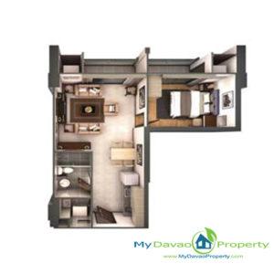 Legacy Leisure Residences, Davao Condominium, Maa Road, Davao City, MyDavaoProperty, My Davao Property, Mixed-Use Condominium, 1 Bedroom C