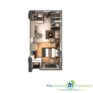 Legacy Leisure Residences, Davao Condominium, Maa Road, Davao City, MyDavaoProperty, My Davao Property, Mixed-Use Condominium, 1 Bedroom G