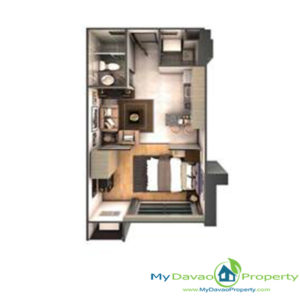 Legacy Leisure Residences, Davao Condominium, Maa Road, Davao City, MyDavaoProperty, My Davao Property, Mixed-Use Condominium, 1 Bedroom H