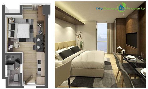 Aeon Bleu, Davao Condominiums, Davao Housing, Davao Real Estate Investment, Davao Real Estate Properties, Davao Properties for Sale, Davao Condominiums for Sale, Davao Homes, Davao City Investments, Davao City Properties, Davao City property, My Davao Property, Studio Unit