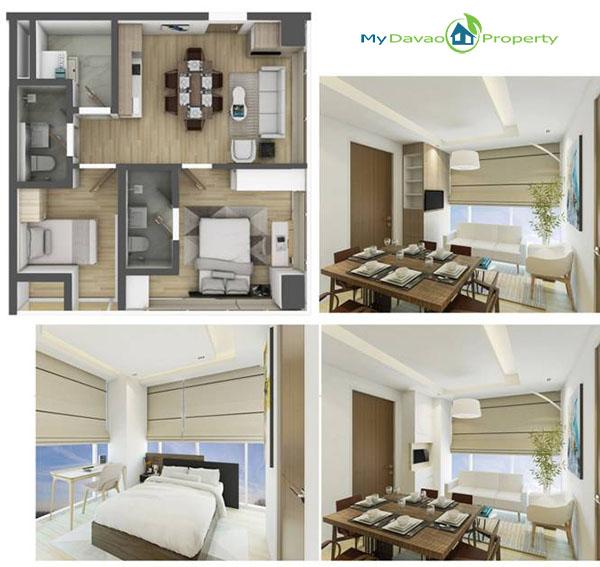 Aeon Bleu, Davao Condominiums, Davao Housing, Davao Real Estate Investment, Davao Real Estate Properties, Davao Properties for Sale, Davao Condominiums for Sale, Davao Homes, Davao City Investments, Davao City Properties, Davao City property, My Davao Property, 2 Bedroom Unit