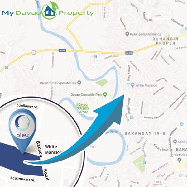 Aeon Bleu, Davao Condominiums, Davao Housing, Davao Real Estate Investment, Davao Real Estate Properties, Davao Properties for Sale, Davao Condominiums for Sale, Davao Homes, Davao City Investments, Davao City Properties, Davao City property, My Davao Property, Vicinity Map